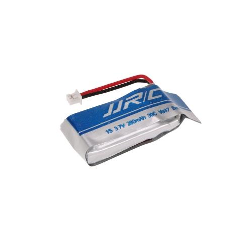 4pcs Batterie originale JJRC 3.7V 280mAh 30C Lipo avec chargeur de batterie 4 en 1 pour JJRC H20C H20W RC Quadcopter