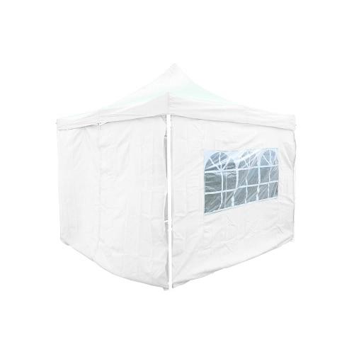 Lot Complet bâches latérales 3x3m Polyester 180g/m² - 2 fenêtres + 2 portes