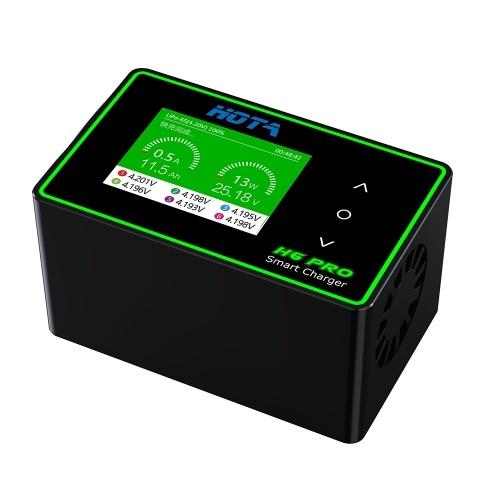 HOTA H6 Pro Lipo Зарядное устройство AC 200W DC 700W Быстрое балансное зарядное устройство для LiHV LiPo LiFe LiIon Lixx NiZn NiCd NiMH свинцово-кислотная батарея