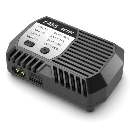 SKYRC E455 Balance Ladegerät 100-240V 50W 4A für 2-4S LiPo LiFe LiHV Akku 6-8S NiMH Akku