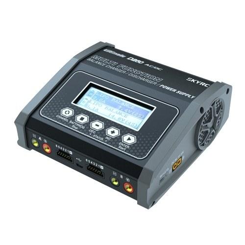SKYRC D260 AC / DC Dual Balance Ladegerät Entlader 100-240 V 10 W * 2 260 W 14 A für 1-6 LiPo LiIon LiFe LiHV 1-15 NiMH NiCd