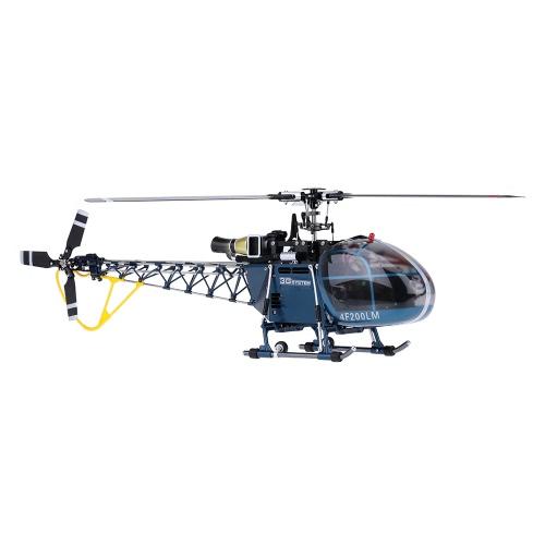 Elicottero Walkera 4F200LM alta simulazione 3D 2.4G 6CH 3-Axis RC Flybarless w / Devo 7 Trasmettitore