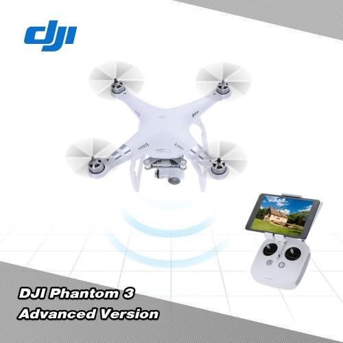 DJI Phantom 3 Advanced Version FPV RC Quadcopter with 1080p HD Camera  Auto-takeoff/Auto-return home/Failsafe RTF Drone