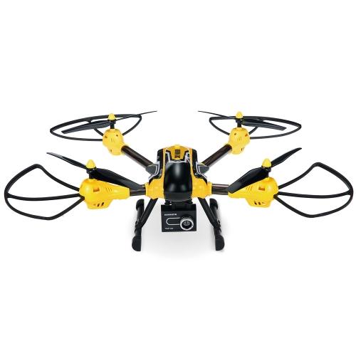 Kai Deng K70C Sky Warrior 2.0MP HD Camera Drone 2.4G 4CH 6-Eixos RC Quadcopter Selfie RTF Suporte GoPro Hero 4 SJCAM