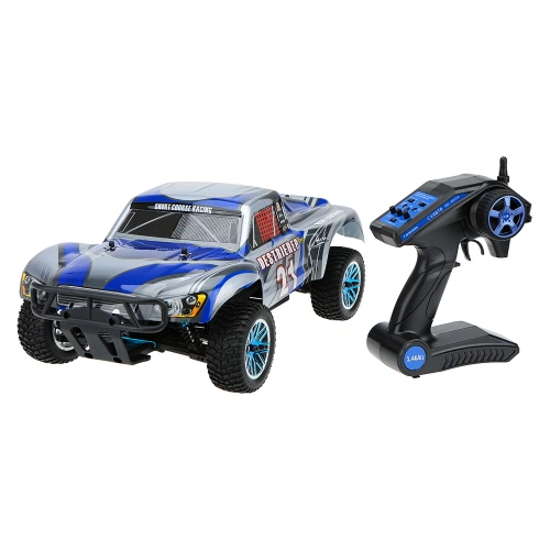Original HSP 94170PRO 1/10 4WD Electric Powered Brushless Motor RTR Short Course Racing RC Car & 2.4GHz Transmitter