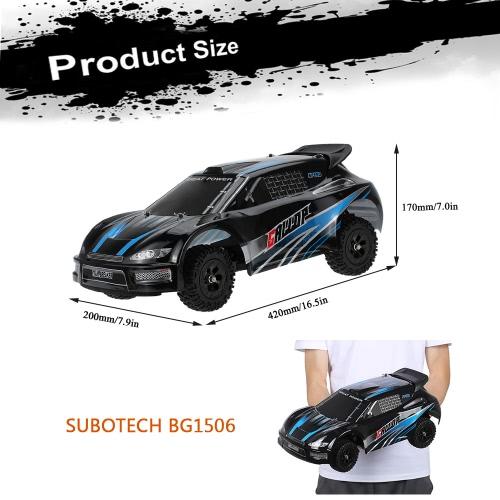 SUBOTECH BG1506 1/12 RC Car 2.4G 2CH 4WD Electric Anti-Shock High Speed Racing RTR Drifting Cars