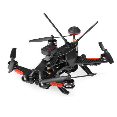 Original Walkera Runner 250 PRO 800TVL 5.8G FPV Racing Drone RC Quadcopter with GPS/GLONASS OSD DEVO 7 Transmitter