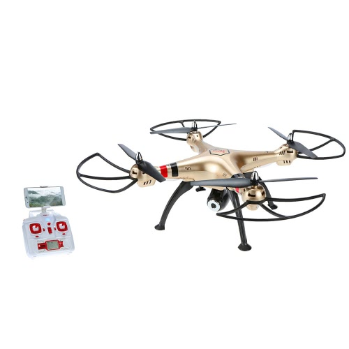 Original Syma X8HW Wifi FPV 2.0MP HD Camera RC Quadcopter with Altitude Hold and Headless Mode