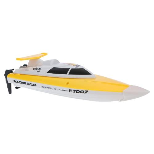 Barca RC di controllo radiofonico ad alta velocità FEI LUN FT007 2.4G 4CH 20km / h
