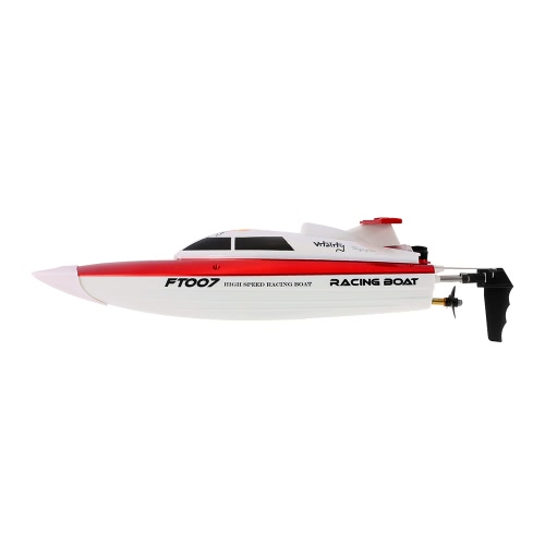 Original FEI LUN FT007 2.4GHz 4CH 20km / h Radio haute vitesse électronique RC Boat