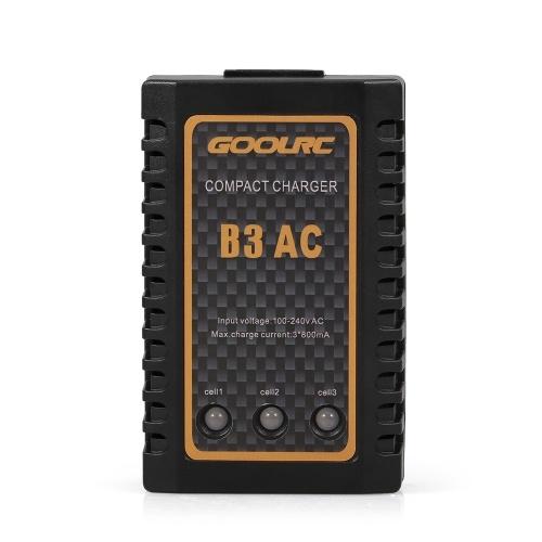 Chargeur compact d'origine GoolRC B3 100-240V AC 2S 3S