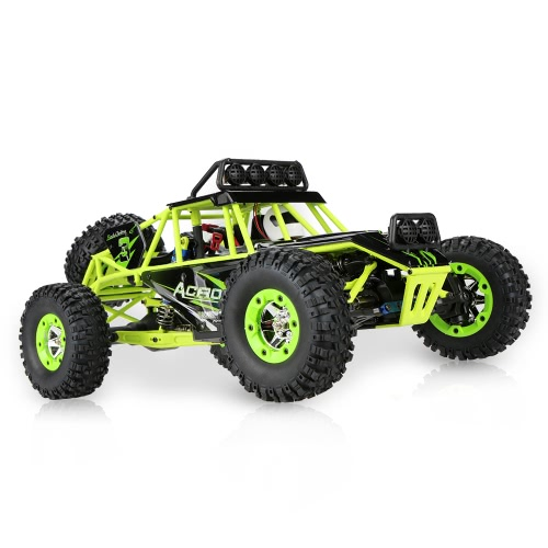 Wltoys 12428 1/12 2.4G 4WD Electric Brushed Crawler RTR RC Car