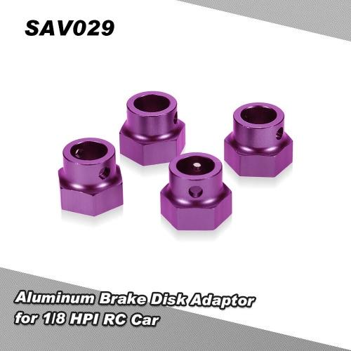 1/8 HPIサベージXLモンスターRCカー用SAV029アルミブレーキディスクアダプタ