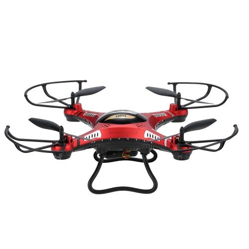 JJRC H8DH 2.4G 4CH 6 eixos Gyro 5.8G FPV 2.0MP Câmera RTF RC Quadcopter com 3D-flip Set-altura Modo Função