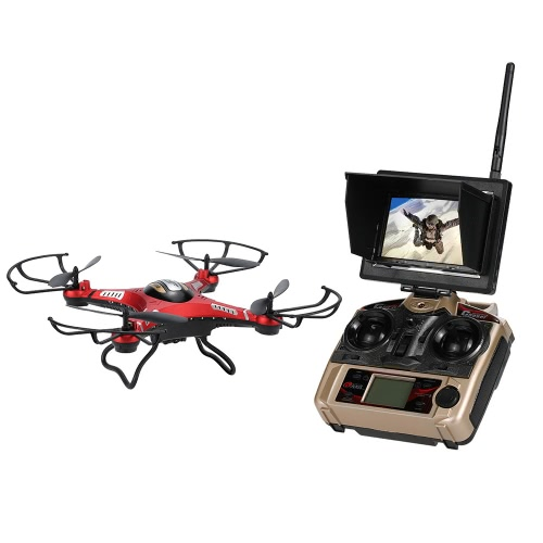 Original JJRC H8DH 2.4G 4CH 6-axis Gyro 5.8G FPV 2.0MP Camera RTF RC Quadcopter with 3D-flip Set-height Mode Function