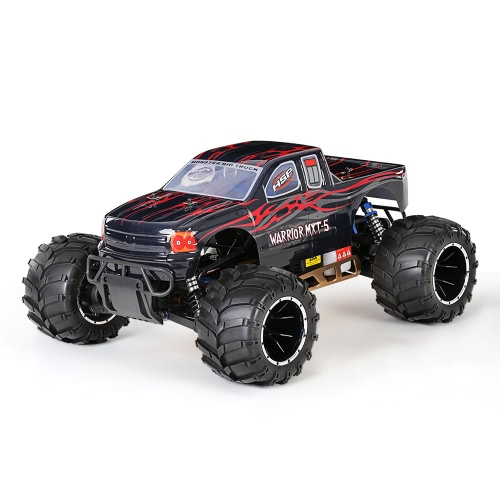 Original HSP 94050 Off-Road 1/5 2.4Ghz 2CH 4WD RTR 32cc Benzinantrieb Monster-LKW-Auto