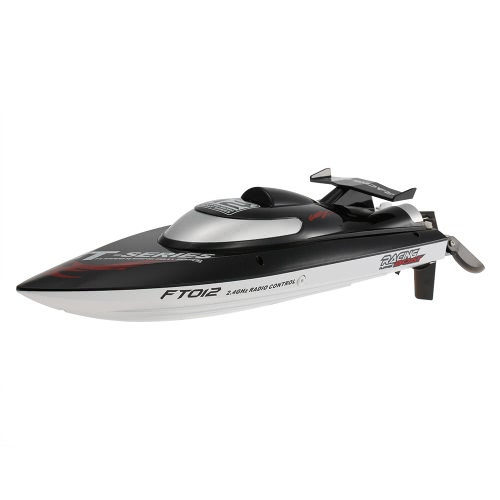 Original Feilun FT012 2.4G Brushless 45km/h High Speed RC Racing Boat with Water Cooling Self-righting System