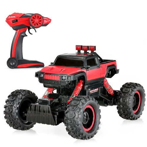 Original HB-P1404 2.4G 1:14 Scale 2CH 4WD Electric RTR Rock Crawler Off-road RC Car with LED Light