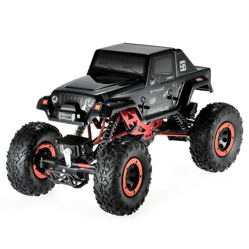 HSP 94680T2 1/18 2.4Ghz 3CH 4WD eléctrico accionado motor cepillado RTR Rock Crawler RC coche con dos servos