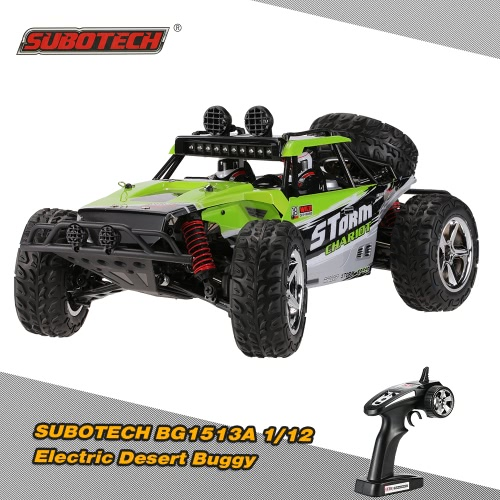Original SUBOTECH BG1513A 1/12 2.4G 2CH 4WD High Speed Electric Desert Buggy with LED Light RTR RC Car
