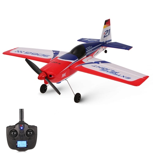 XK A430 2.4G 5CH Brushless Motor 3D6G Système RC Airplane 430mm Wingspan EPS Aircraft Compatible Futaba S-FHSS RTF