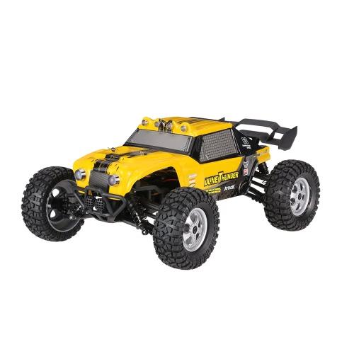 HBX 12891 1/12 2.4G 4WD防水砂漠トラックオフロードバギーRTR RCカー(LEDライト付)