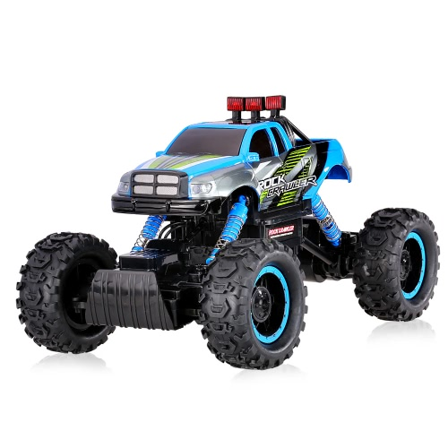 Original HB-P1402 2.4G 1:14 Scale 2CH 4WD Electric RTR Rock Crawler Off-road RC Car with LED Light