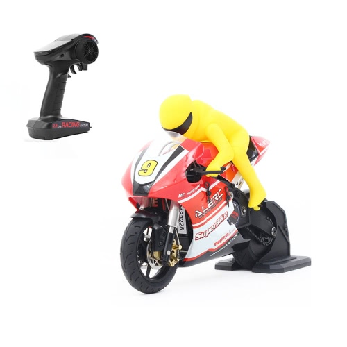 Original ALZRC RIDER R-100S RTR 1/10 Brushless RC Motorcycle with 2.4G 2CH Transmitter