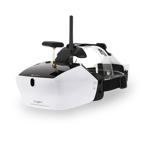 Walkera Goggle 4 5.8G FPV 40CH Aerial Video Glasses with Double Antennas Receiving 5