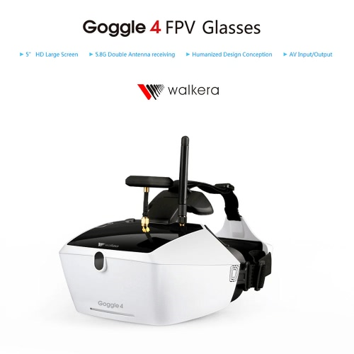 Walkera Goggle 4 5.8G FPV 40CH Aerial Video Glasses