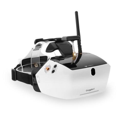 Walkera Goggle 4 5.8G FPV 40CH Воздушные видео очки с двойными антеннами, получающие 5-дюймовый большой экран для бегуна 250 F210 Rodeo 150 Furious 320 Racing Drone