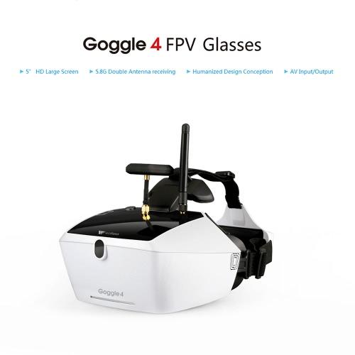 Oryginalny Walkera Goggle 4 5,8g FPV 40CH żurawie Okulary wideo z podwójnym Anteny Odbieranie 5