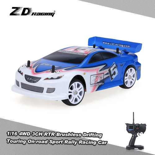 Original ZD Racing D16-M6 1/16 4WD 3CH 60km/h Electric Brushless RTR Drift Touring Car On-road Sport Rally Racing Car