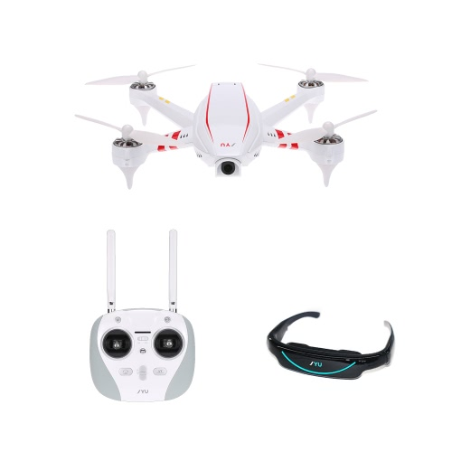 Originale jyu Hornet S 5.8G FPV 120 chilometri all'ora da corsa Drone con 700TVL HD Camera Goggles GPS Librarsi rtf RC Quadcopter FPV Edition