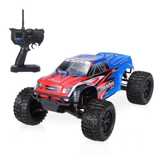 Original ZD Racing NO.9105 Thunder ZMT-10 2.4GHz 4WD 1/10 Scale RTR Brushed Electric Monster Truck RC Car