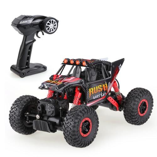 6005-2 2.4GHz 4WD 1/16 de velocidad rápida RTR Rock Crawler RC Car