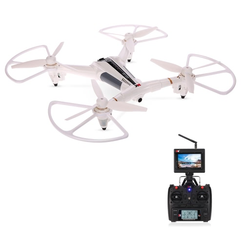 XK X300-F 2.4G Drone Wild Angle Camera RC Quadcopter - US Plug