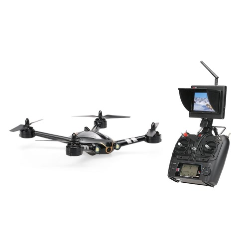 XK original X252 2.4G 5.8G FPV 7CH transmisión en tiempo real 3D 6G modo que compite con aviones no tripulados Con 720P 140 ° gran angular HD cámara de motor sin escobillas RTF RC Quadcopter