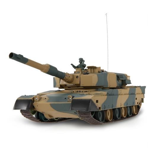 Original HENG LONG 3808 1/24 Japan T90 Airsoft Battle Panzer RC Tank with Programming Function