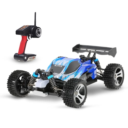 Original WLtoys A959 Verbesserte Version 1/18 Maßstab 2.4G Fernbedienung 4WD Elektro RTR Off-Road Buggy RC Car