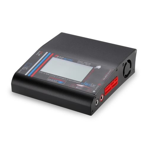T610AC 120W Balance Charger Discharger with LCD Touch Screen for LiPo LiFe NiCd NiMH liIon Pb Battery