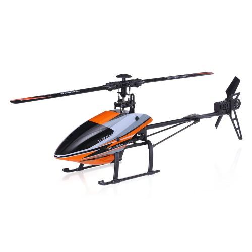 オリジナルWLtoys V950 2.4G 6CH 3D 6GシステムブラシレスモータフライバーレスRTF RCヘリコプター
