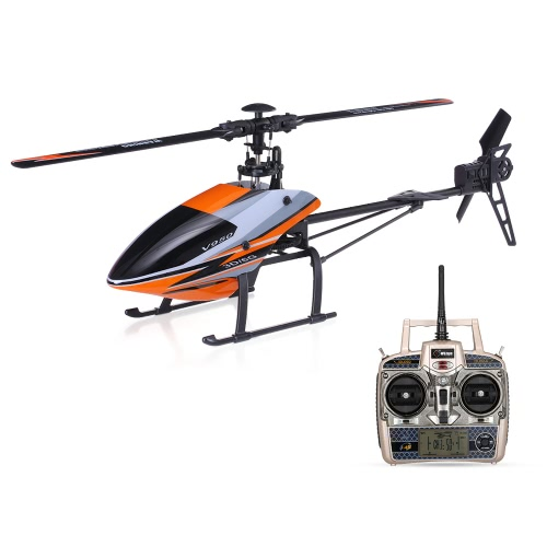 WLtoys V950 2.4G 6CH 3D 6G бесщеточный двигатель Flybarless RTF RC Вертолет