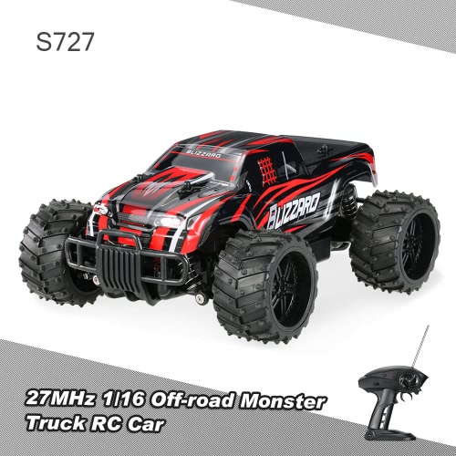PXtoys S727 27MHz 1/16 20km/h High Speed Off-road Monster Truck RC Car