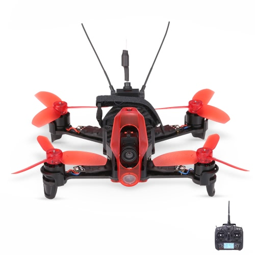 Walkera Rodeo 110 Tiny Micro 5.8G FPV Racing Quadcopter F3 Contrôleur de vol DEVO 7 Brushless Indoor Drone RTF