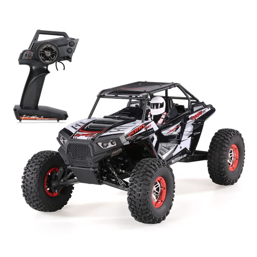 WLtoys 10428-B2 1/10 2.4G 4WD Rastreador de Roca Eléctrica Off-Road Buggy Desierto Baja RC RTR