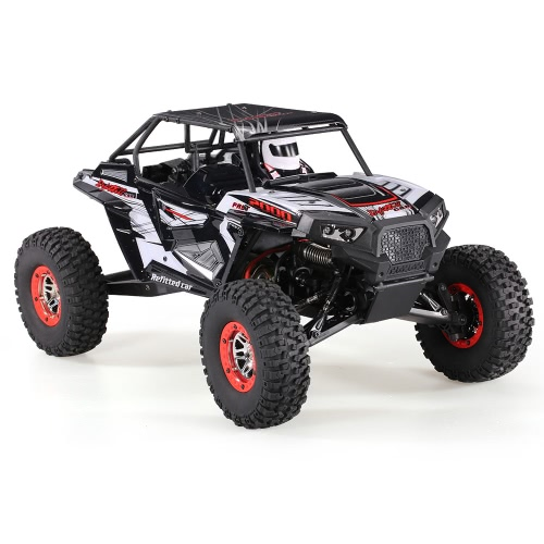 WLtoys 10428-B2 1/10 2.4G 4WD Electric Rock Crawler Off-Road Buggy Desert Baja RC Car RTR