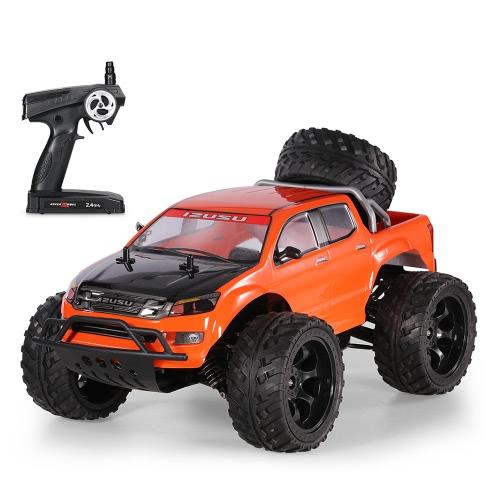 クリエイティブダブルスター990A 1/10 2.4G 4WDロッククローラーオフロードモンスタートラックRCバギーカーRTR