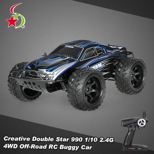 Creative Double Star 990 1-10 2.4G 4WD Rock Crawler Off-road Truggy RC Monster Truck Buggy Car RTR