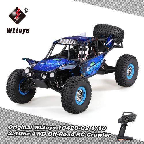 WLtoys 10428-C2 1/10 2.4G 4WD Electric Rock Crawler Off-Road Buggy Desert Baja RC Car RTR
